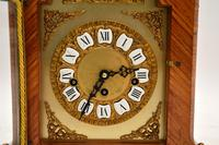 Antique French Style Kingwood Mantel Clock (6 of 11)