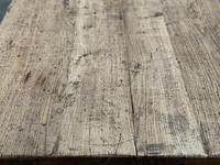 Superb Quality Large Bleached Oak Farmhouse Dining Table (11 of 32)