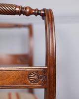 Set of 4 Regency Mahogany Dining Chairs (4 of 4)
