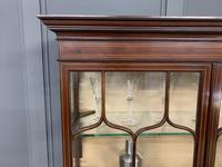 Inlaid Mahogany Display Cabinet by Shapland and Petter (17 of 21)