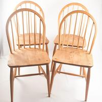 Set of Four Ercol Windsor Chairs (6 of 8)