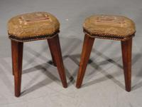 Attractive Pair of George III Period Octagonal Stools (2 of 5)