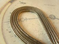 Antique Pocket Watch Chain 1880s Victorian Silver Nickel & Enamel Fancy Albert (9 of 11)