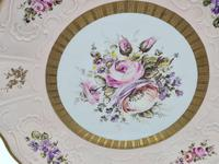 Vintage German Porcelain Plates / Chargers Bavarian /Set of Three (31 of 32)