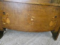 Liberty Arts & Crafts Oak Hall Bench (2 of 11)