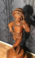 Italian Carved Hardwood Figure of a Boy (20 of 23)