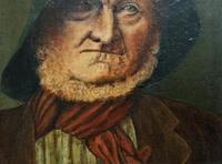 'The Old man' Original Antique 19th Century Victorian Oil Portrait Painting (3 of 11)