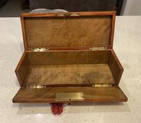 19th Century French Applewood Glove Box (9 of 17)