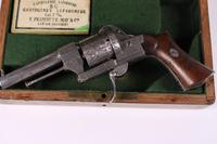 Cased 19th Century French Pinafore Revolver by Lefaucheux (6 of 8)