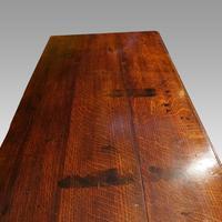 Antique Oak Cabriole Leg Dresser (7 of 9)