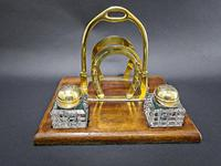 Brass Jockey Desk Tidy (6 of 6)