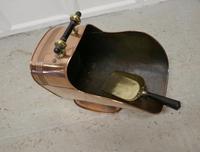 Superb Large Arts & Crafts Copper Helmet Coal Scuttle (6 of 7)