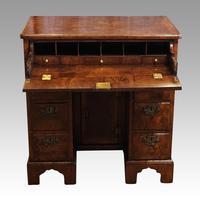 George III Walnut Kneehole Desk (2 of 12)