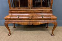 Burr Walnut Dome Topped Display Cabinet (6 of 21)