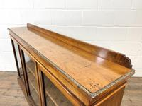 19th Century Glazed Walnut Bookcase (12 of 14)