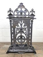 Victorian Cast Iron Umbrella Stand – Coalbrookdale Style (9 of 9)