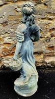 Large Composition Stone Figure / Garden Statuary (4 of 7)