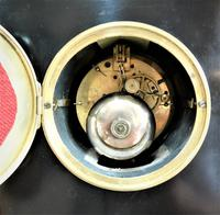 Wonderful 1863 French Striking Black Slate Mantel Clock (5 of 5)