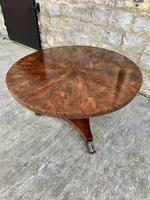 Exceptional Quality Regency Flame Mahogany Centre Table (9 of 10)