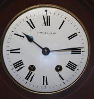 Mahogany & Inlay Bracket Clock (10 of 11)