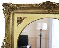 Gilt 19th Century Large Overmantle Wall Mirror (2 of 6)