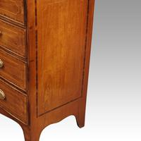 Regency Inlaid Bow Fronted Chest (7 of 10)