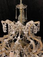 10 Light Italian Marie Theresa Antique Chandelier (3 of 14)