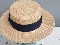 Borsalino Straw Boater Hat (2 of 8)