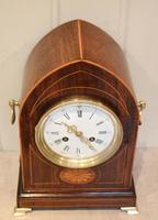 Rosewood Lancet Top Mantel Clock (5 of 15)
