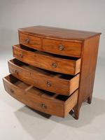 Good George III Period Bow Fronted Chest of Drawers (5 of 5)