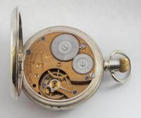 Antique Silver Waltham Bond Street Pocket Watch (5 of 5)