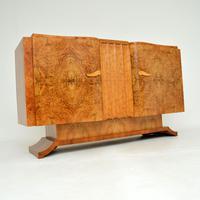 1930's Art Deco Burr Walnut Sideboard by Hille (2 of 12)
