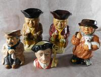 A Group of Five Character & Toby Jugs (2 of 12)