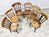 A Harlequin Set of 6 Kitchen Chairs (4 of 7)