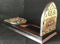 Victorian  Coromandel , Copper and  Brass  Book Slide. (2 of 6)