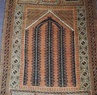 Super Quality Vintage Afghan Prayer Rug (4 of 5)