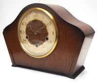 Smiths Arched Top Art Deco Mantel Clock – Musical Westminster Chiming 8-day Mantle Clock (4 of 9)