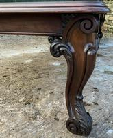 Very Large Victorian Extending Dining Table in Mahogany (14 of 17)