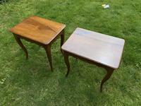 Pair of Walnut Side Tables (5 of 6)