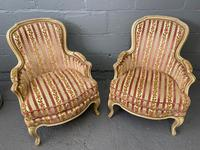 Lovely Pair of French Bergere Chairs (4 of 4)
