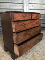 Large Georgian Mahogany Chest of Drawers (5 of 6)