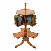 Victorian Satinwood Book Stand (2 of 8)