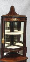 Top Quality Rosewood Display Cabinet (9 of 13)