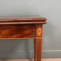 Country House Georgian Mahogany Antique Side / Tea Table (6 of 8)