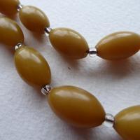 Butterscotch Bakelite Bead Necklace (6 of 7)