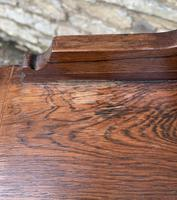 Antique Rosewood Inlaid Writing Desk (18 of 19)