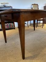 Small Cherrywood Farmhouse Table (3 of 4)