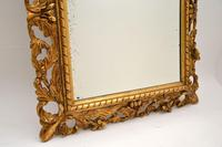 Antique French Carved Giltwood Mirror (7 of 10)