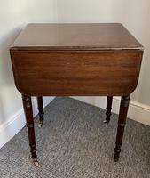 Victorian Mahogany Drop Flap Work Table (16 of 18)