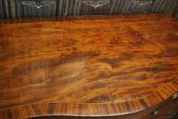 Plum Pudding Mahogany Serpentine Chest of Drawers (6 of 8)